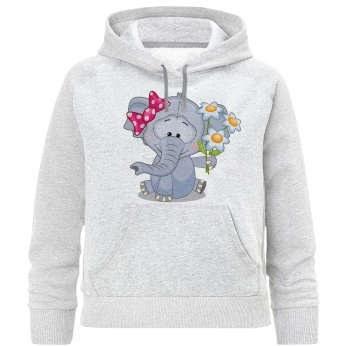هودی دخترانه طرح فیل کد R48 |