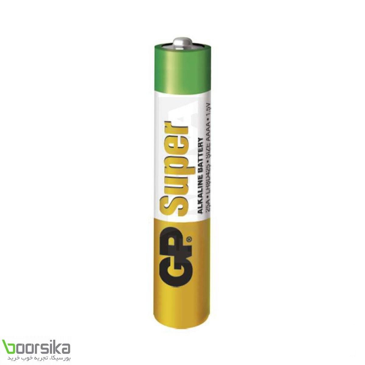 باتری نیم قلمی جی پی GP Super Alkaline AAAA Battery