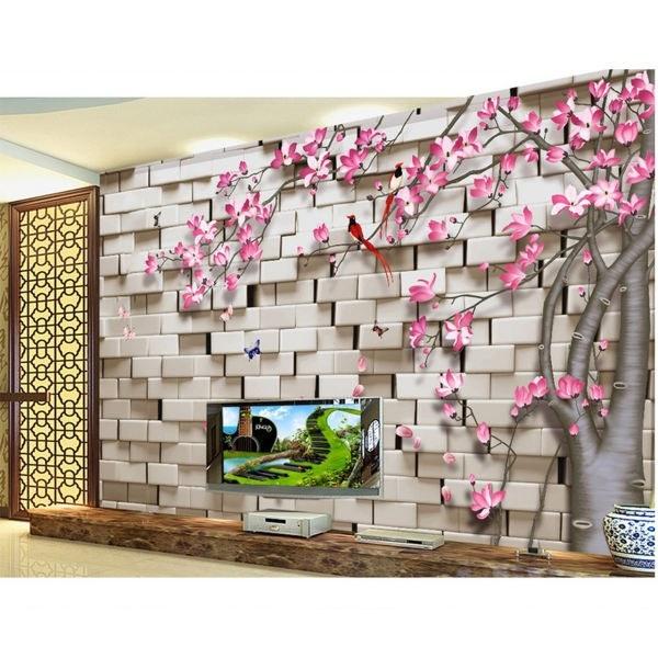 کاغذ دیواری سالسو طرحA002 lovely flower   salso Wallpaper