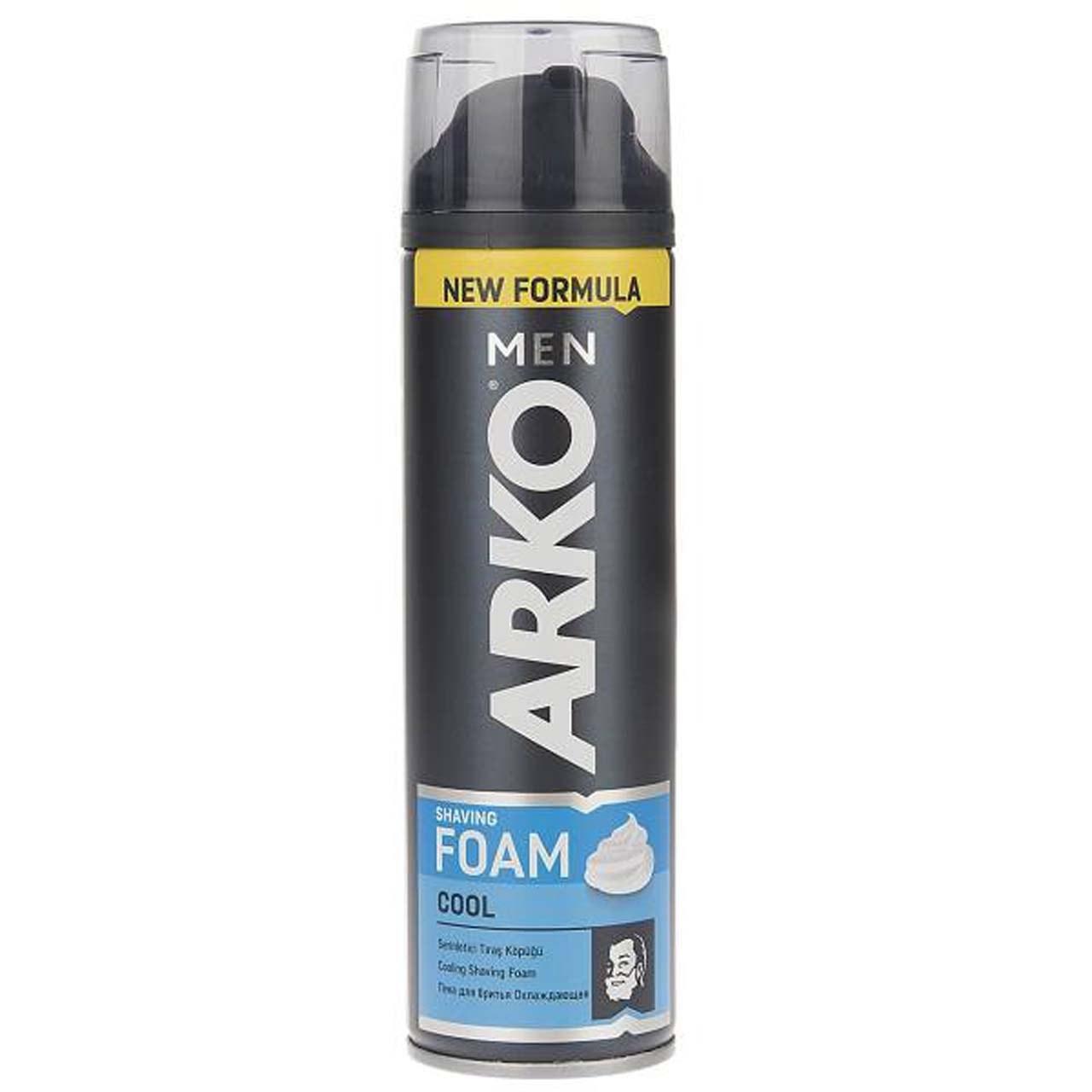 فوم اصلاح آرکو مدل کول 200 میلی لیتر | ARKO MEN Cool Shaving Foam 200ml