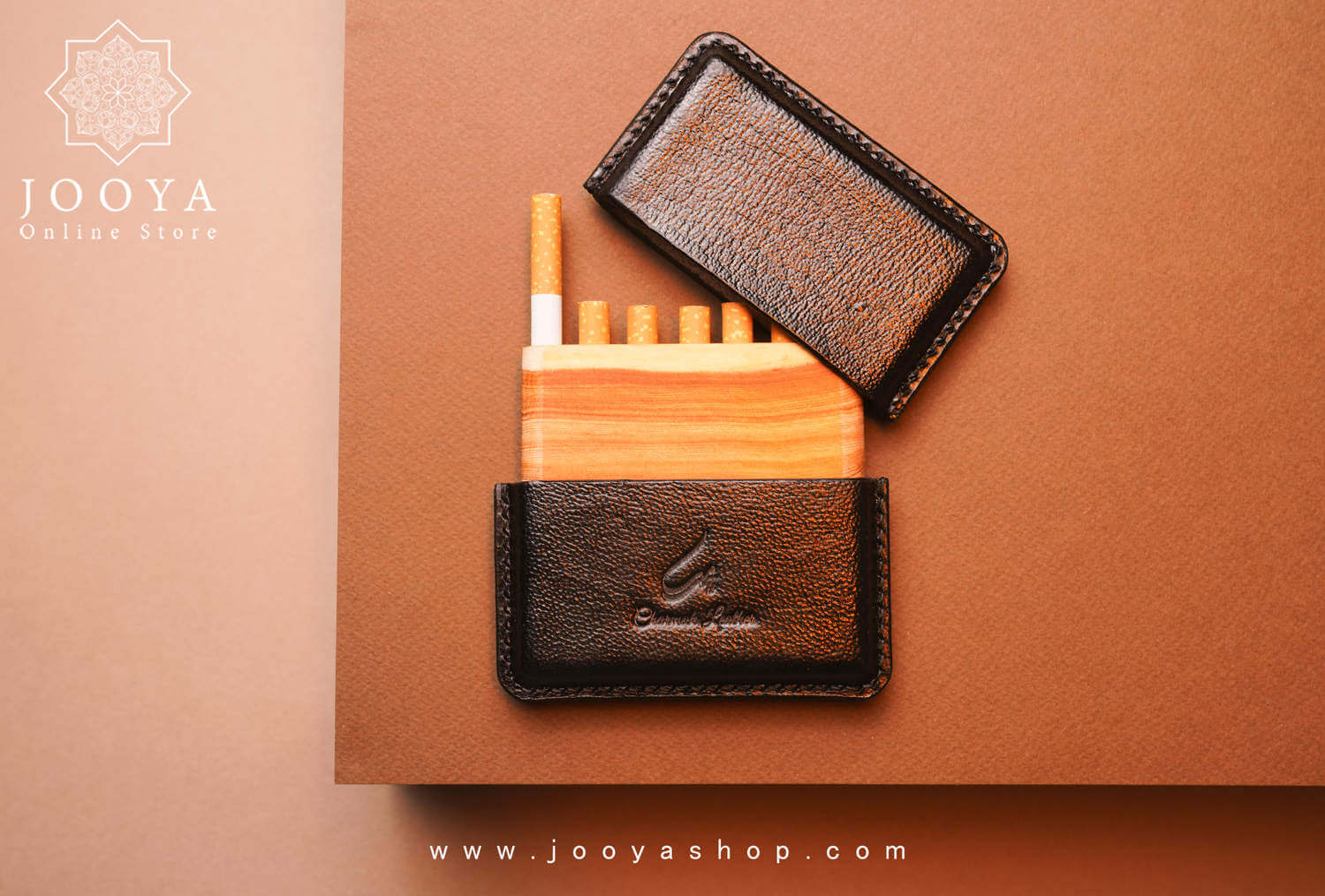 تصویر کیف سیگار چرم توما