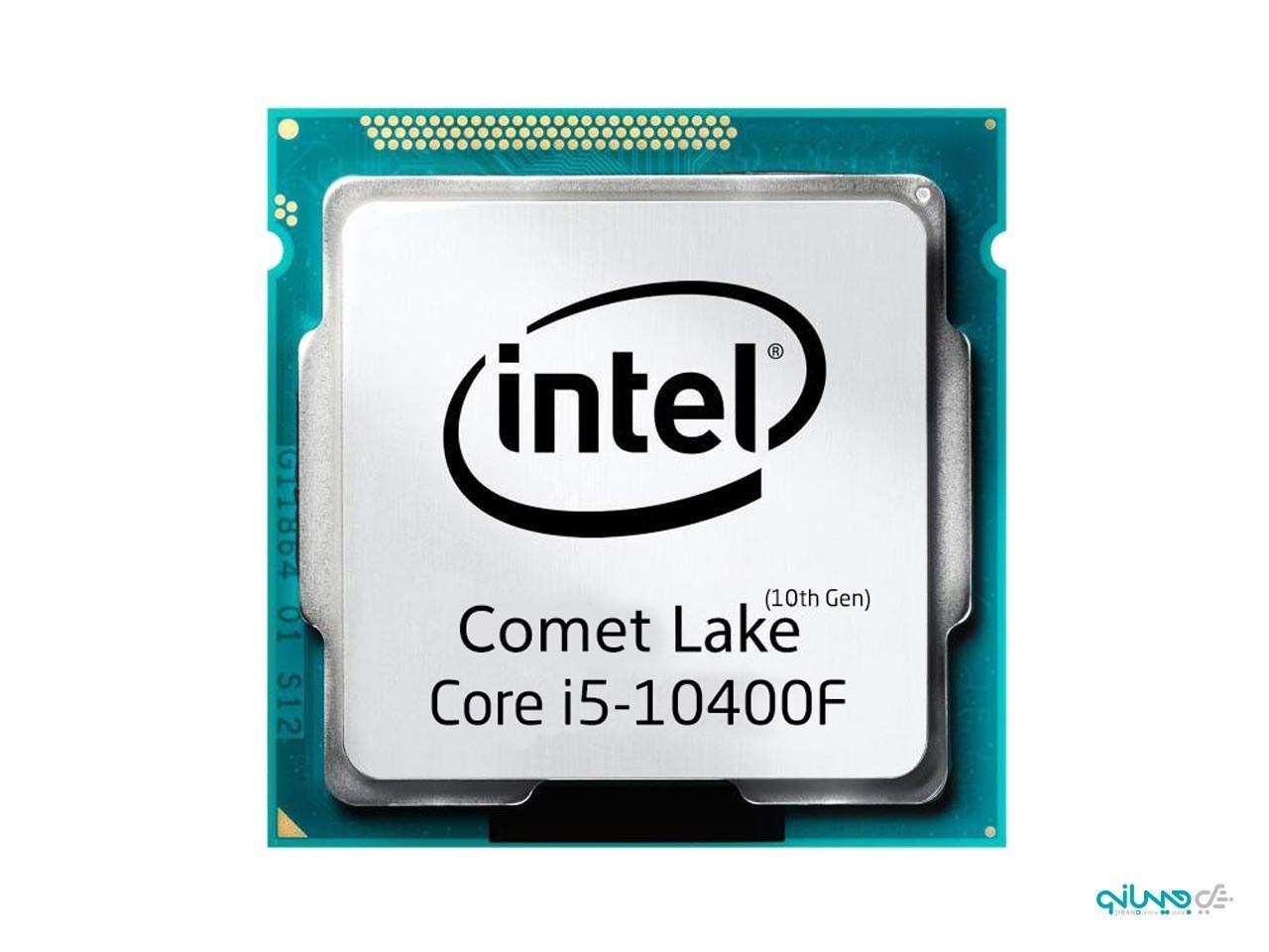 پردازنده اینتل Core i5-10400F Tray