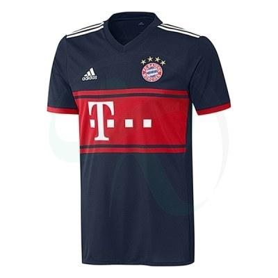 پیراهن دوم بایرن مونیخ Bayern Munich 2017-18 Away Soccer Jersey