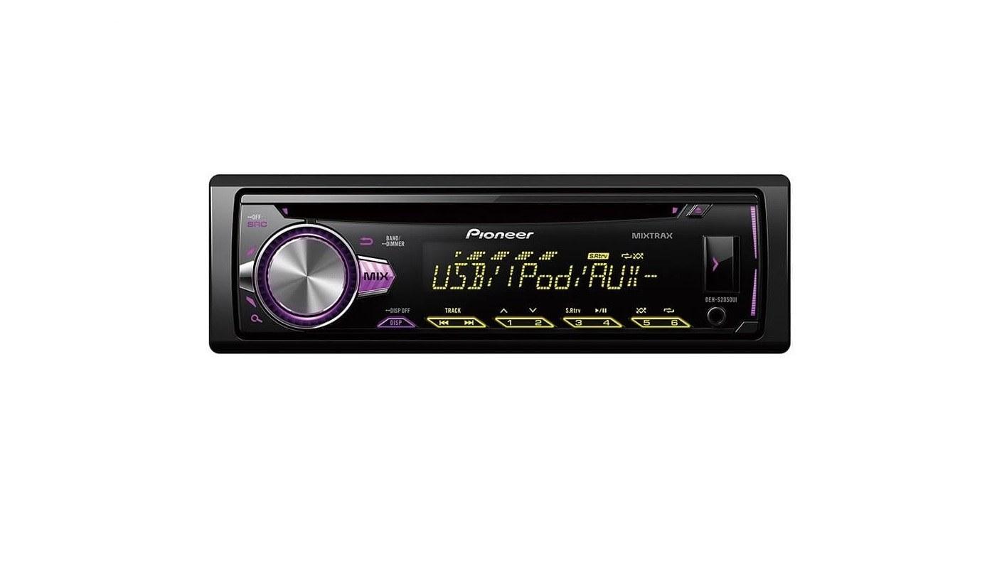 main images پخش کننده خودرو پايونير مدل DEH-S2050UI Pioneer DEH-S2050UI Car Audio