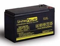 باتری خشک 12 ولت 7 آمپر Unitex Power یونیتکس پاور
