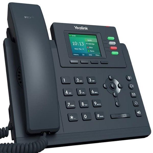 تصویر تلفن تحت شبکه مدل SIP-T33G یالینک Yalink SIP-T33G network telephone