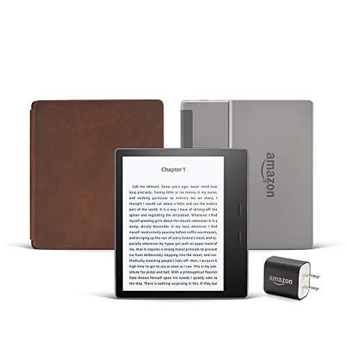 Kindle Oasis (Previous Generation - 9th) Essentials Bundle including Kindle Oasis 7\