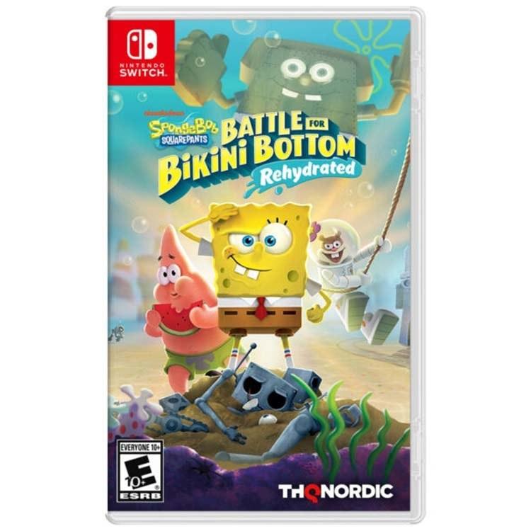 تصویر بازی SpongeBob SquarePants: Rehydrated برای Nintendo Switch