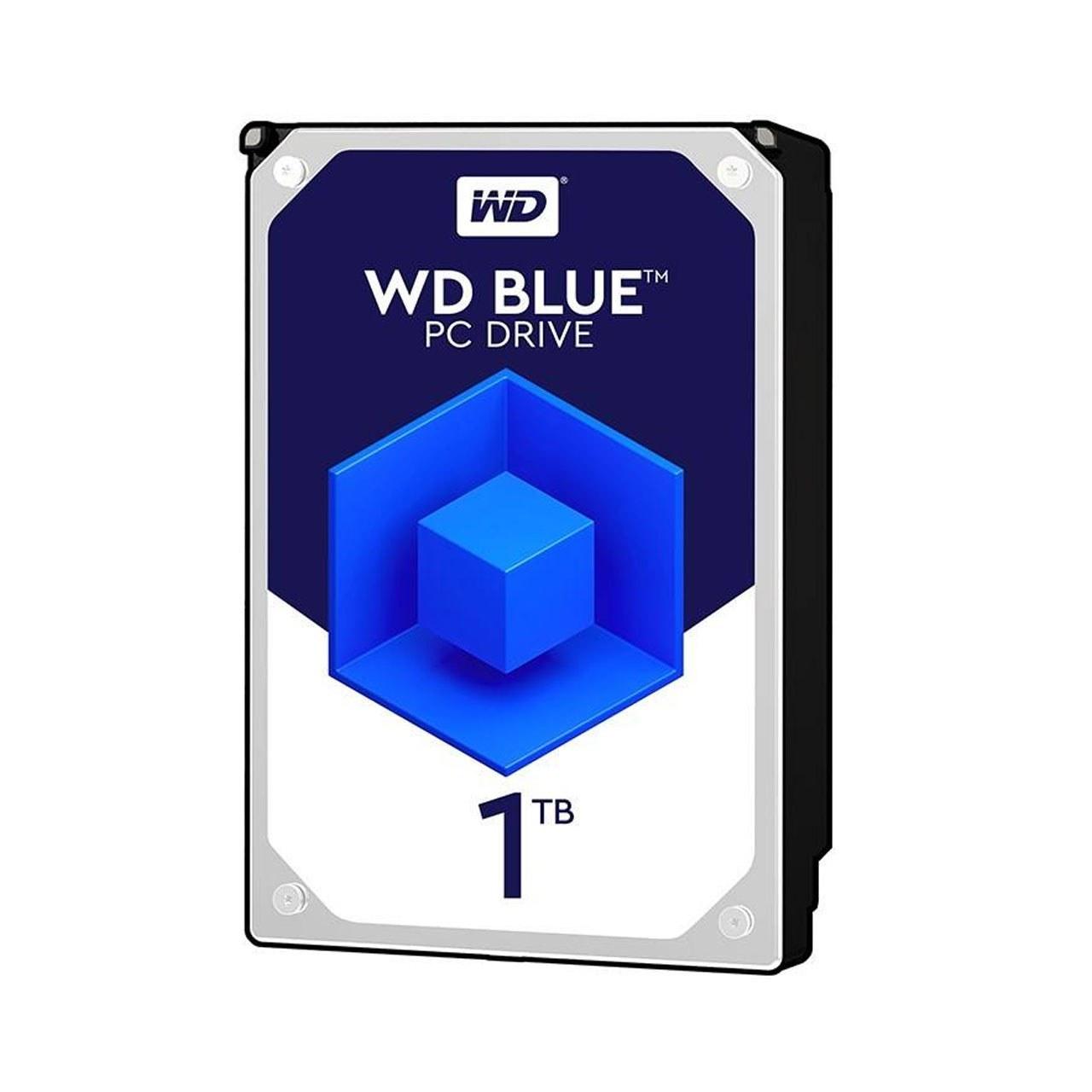 تصویر هارد اینترنال وسترن دیجیتال Blue ظرفیت 1 ترابایت گارانتی 2ساله اصلی