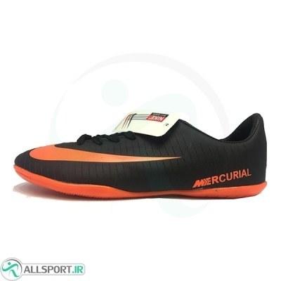 کفش فوتسال نایک مرکوریال طرح اصلی مشکی نارنجی Nike Mercurial 2018