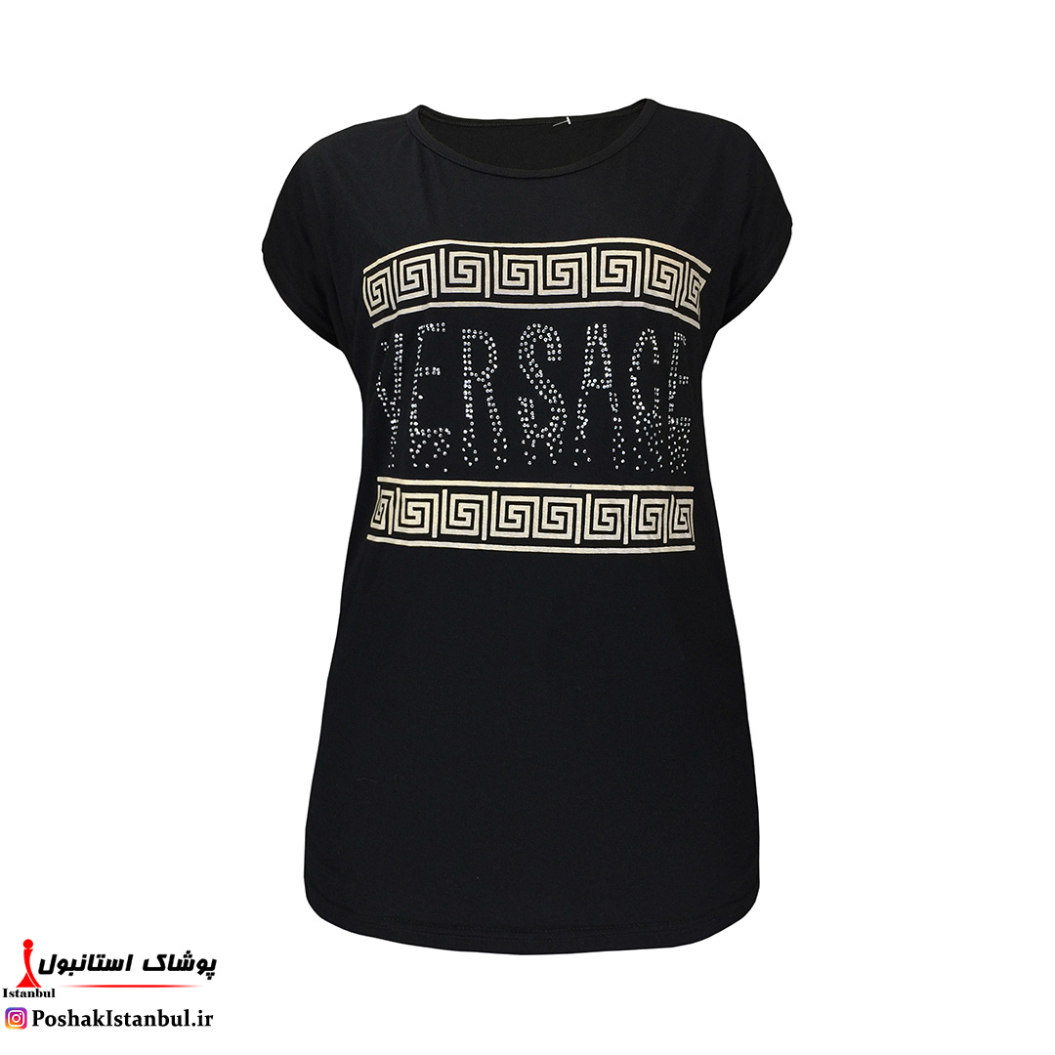 عکس تیشرت زنانه ورساجه کد00396  تی-شرت-زنانه-ورساجه-کد00396