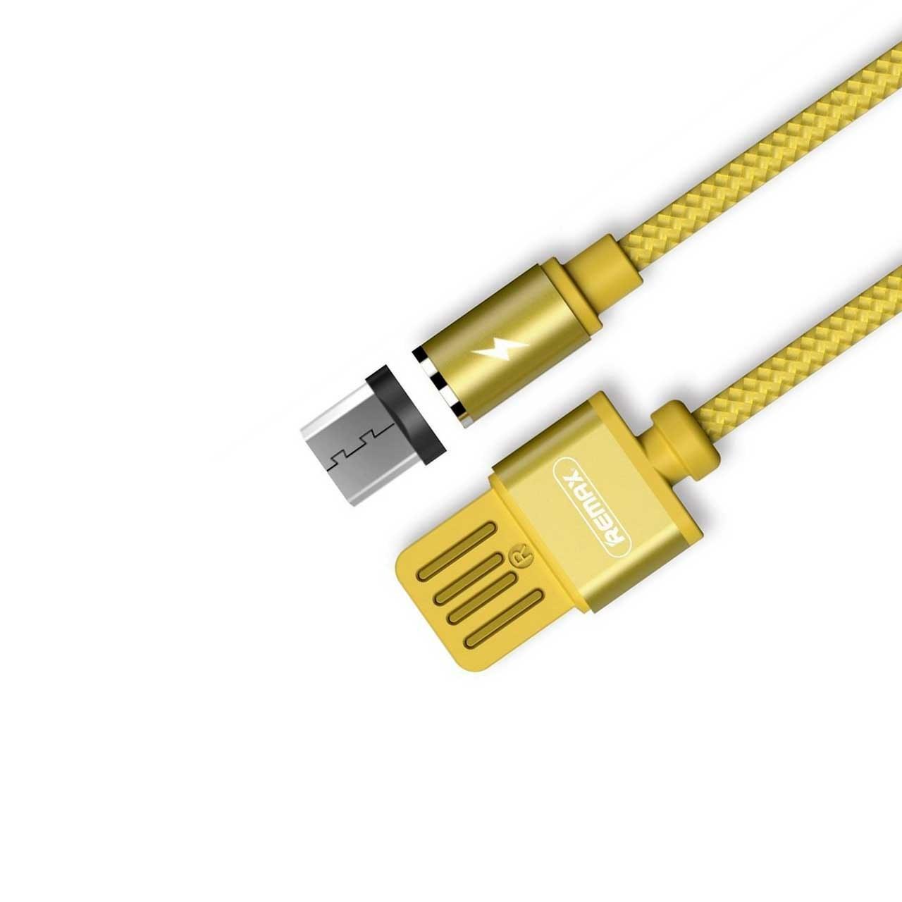 main images کابل Micro USB مغناطیسی برند Remax مدل RC-095m