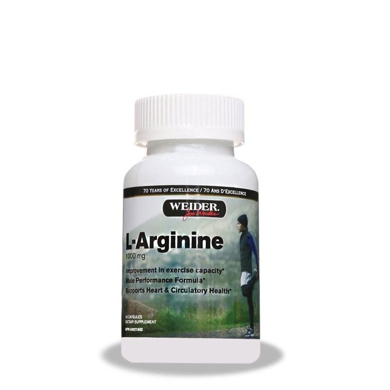 ال آرژنین ویدر – Weider L-Arginine 1000mg