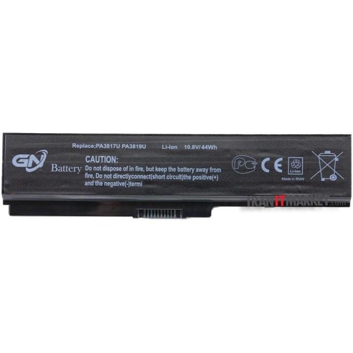 تصویر باتری لپ تاپ توشیبا battery dell toshiba satellite L745 با ظرفیت 4400 میلی آمپر