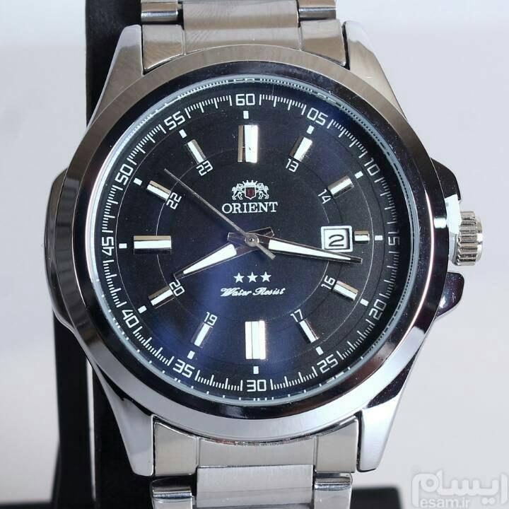 ساعت سلطنتی اورینت.موتور ژاپن اصل. تمام استیل . ضد آب . وزن سنگین . تاریخ نگار . قیمت 400 هزار تومان | مزایده ساعت سلطنتی ORIENT