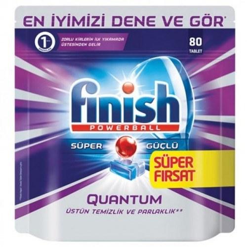 قرص ماشین ظرفشویی فینیش مدل کوانتوم - 80 عددی