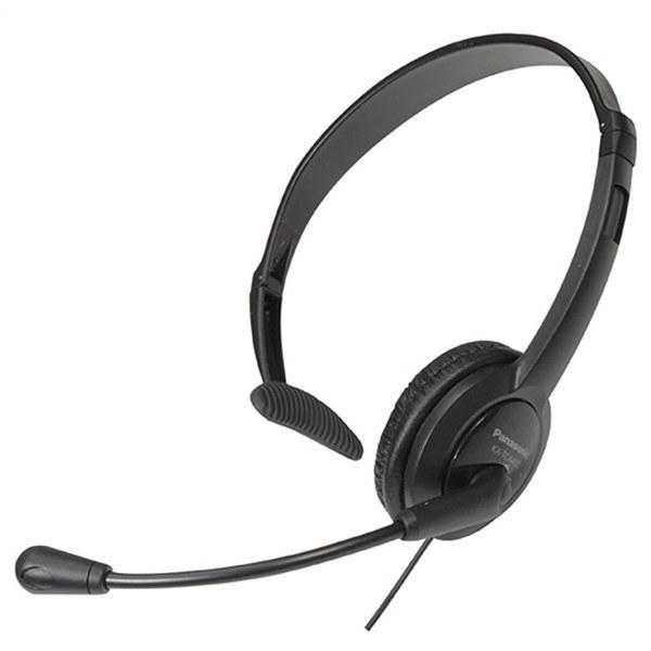 تصویر هدست تلفن پاناسونیک مدل KX-TCA400 هدست، هدفون، هندزفری پاناسونیک KX-TCA400 Wired Headset