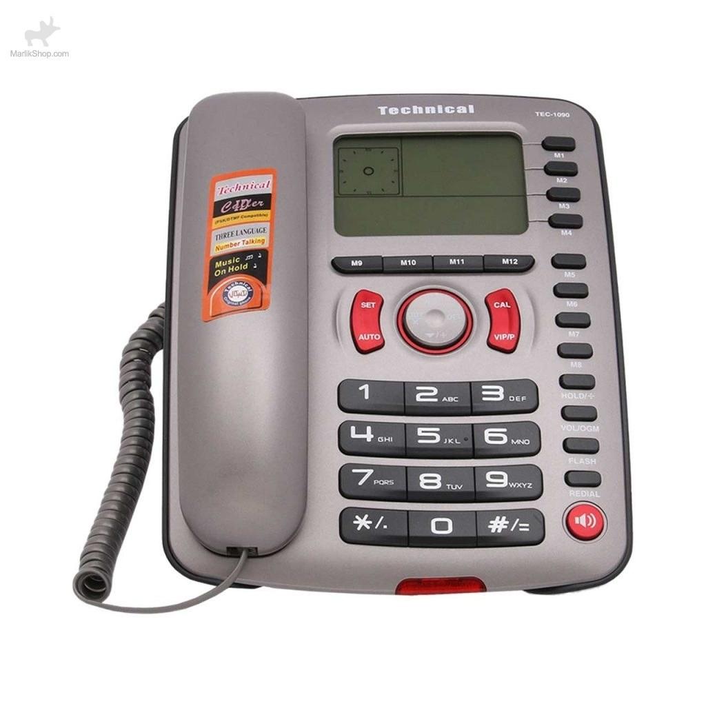 تصویر تلفن رومیزی تکنیکال TEC-1090 TEC-1090