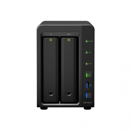 Synology Diskstation DS716+II Max 20TB 2-Bays |