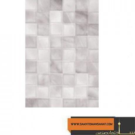کاشی دیوار آشپزخانه و سرویس بهداشتی مرجان مدل آلاباسترو کد7196 |