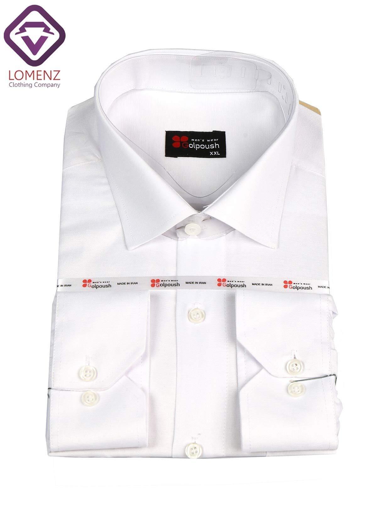 تصویر پیراهن جعبه ای فلورا تایلندی سفید