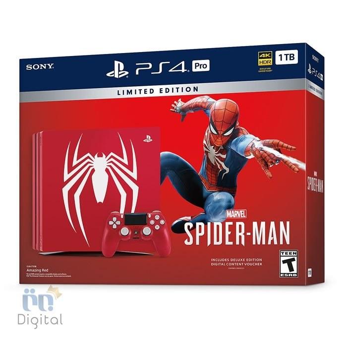 تصویر کنسول بازی PS4 Slim 1TB باندل Spider-Man ریجن 2