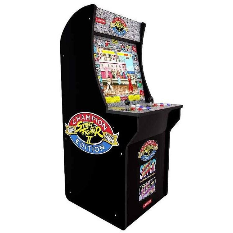 تصویر خرید دستگاه آرکید Arcade 1Up - نسخه بازی Street Fighter