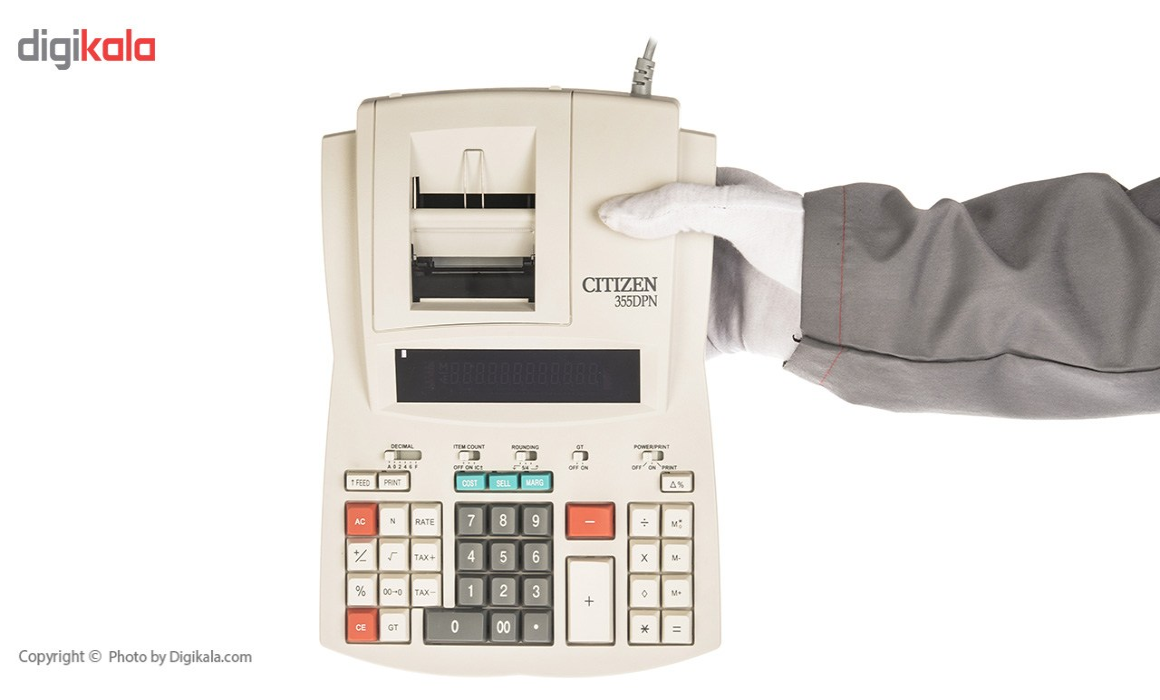 تصویر ماشین حساب سیتیزن مدل 355DPN Citizen 355DPN Calculator