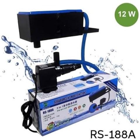 پمپ سه کاره آکواریوم 12W مدل RS-188A