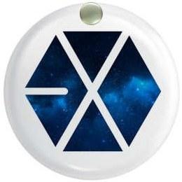 آینه جیبی  طرح exo کد ai33  
