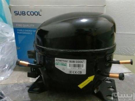 تصویر کمپرسور موتور یخچال پمپ وکیوم