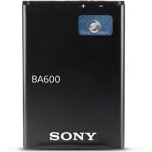 تصویر باتری موبایل سونی مدل BA600 با ظرفیت 1320mAh مناسب برای گوشی موبایل سونی Xperia U Sony BA600 1320mAh Mobile Phone Battery For Sony Xperia U