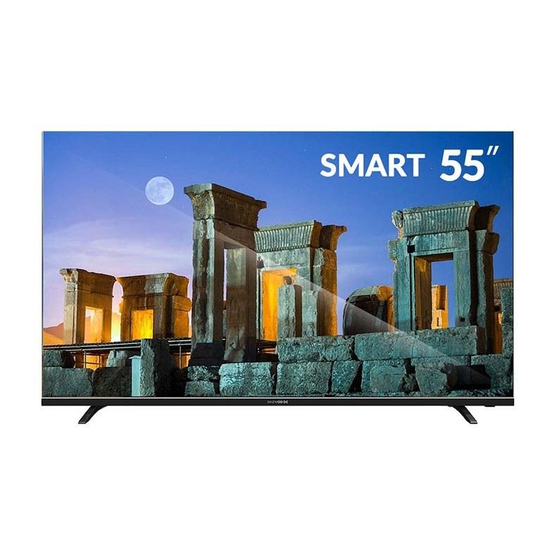 تصویر تلویزیون ال ای دی هوشمند ۵۵ اینچ دوو مدل DSL-55K5410U