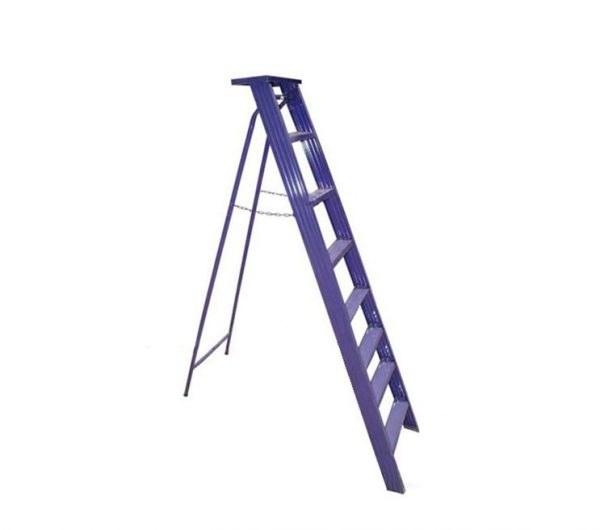 تصویر نردبان ۸ پله شفاء ( فلزی )