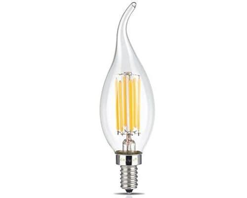 تصویر لامپ اشکی 6 وات فیلامنتی