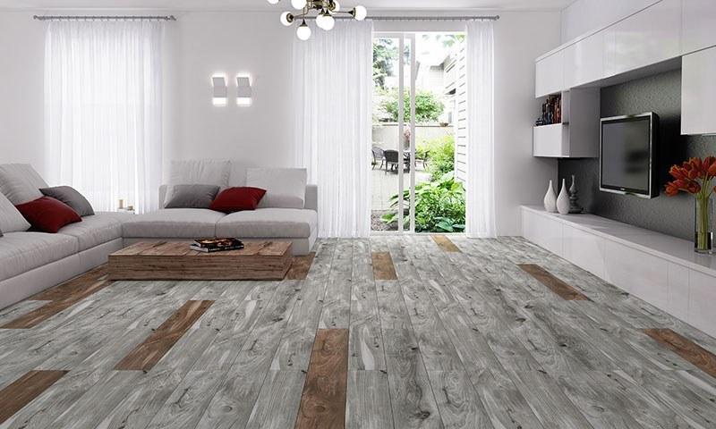 تصویر کاشی طرح پارکت پرسلان اکستریم 20 در 120 فخار رفسنجان - کاشی طرح چوب