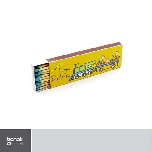 تصویر کبریت چوب بلند توکلی - بسته 20 عددی Tavakoli - LS1 birthday match - 60 pcs