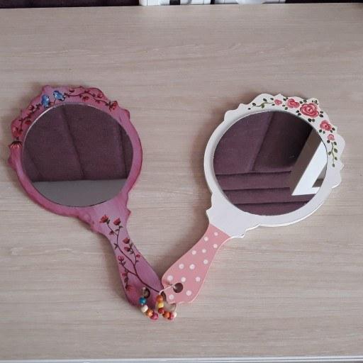 آینه دستی زیبا