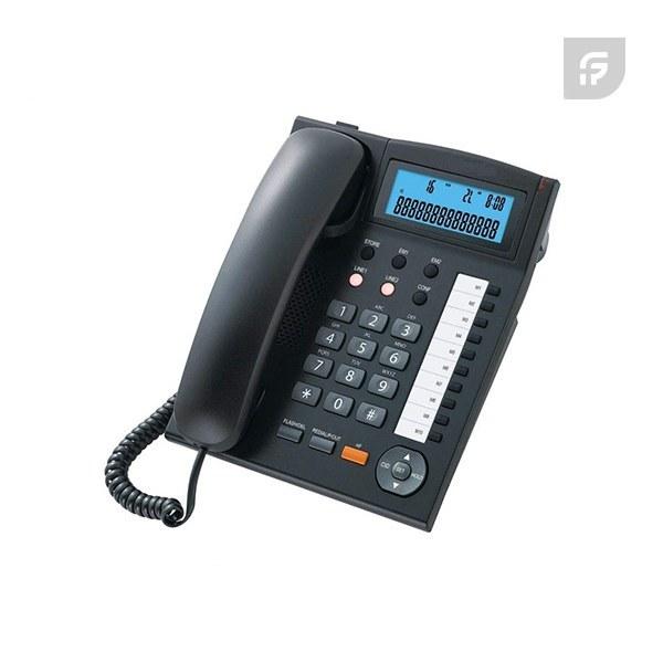تصویر تلفن رومیزی سیم دار دوخط تکنوتل مدل TF-5390