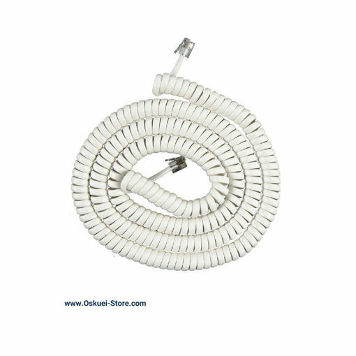 کابل بند فنری برای تلفن رومیزی