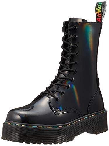 Dr. Martens Unisex Jadon Hi Rainbow Patent Boot