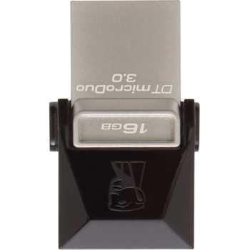 تصویر فلش مموری OTG کینگستون مدل DTDUO3 ظرفیت 16 گیگابایت Kingston DTDUO3 OTG Flash Memory - 16GB
