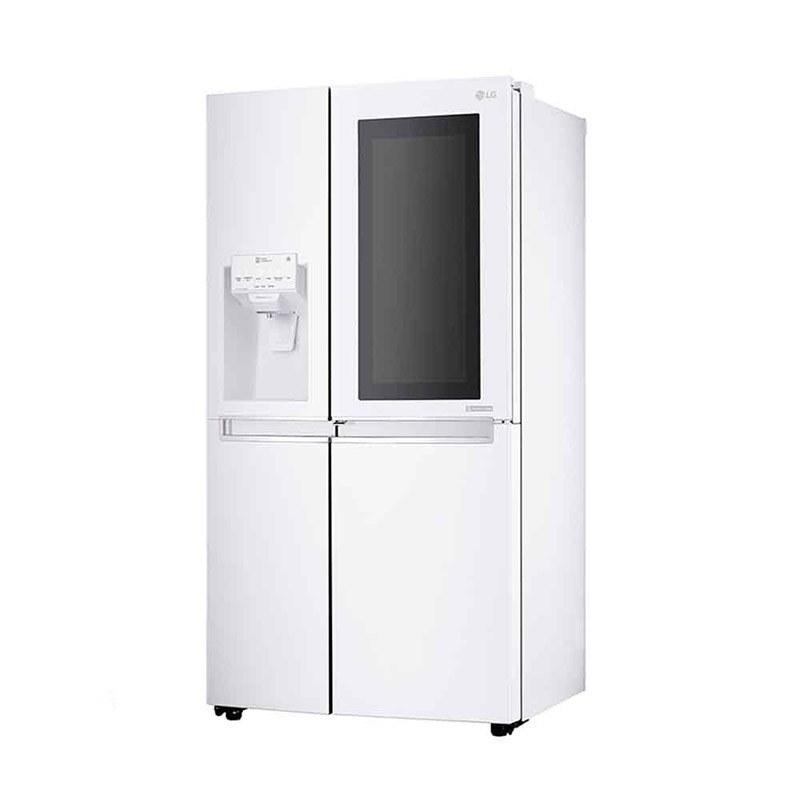 تصویر یخچال فریزر ساید بای ساید ال جی مدل X257 ا LG GR-X257 Refrigerator LG GR-X257 Refrigerator
