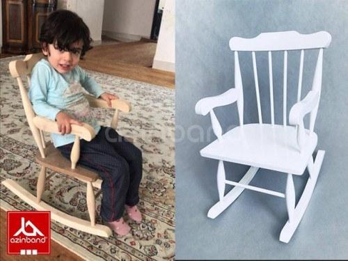 تصویر صندلی راک کودک صندلی چوبی راک کودک