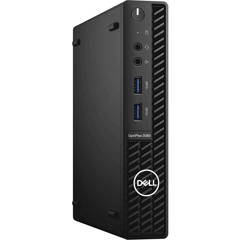 تصویر مینی کیس 2021 Dell OptiPlex 3080 Micro 2021 Dell OptiPlex 3080 Micro Form Factor Business Desktop, Intel 6-Core Processor i5-10500T, 16GB RAM, 512GB SSD, WiFi, HDMI, DP, Bluetooth, Windows 10 Pro (Latest Model)