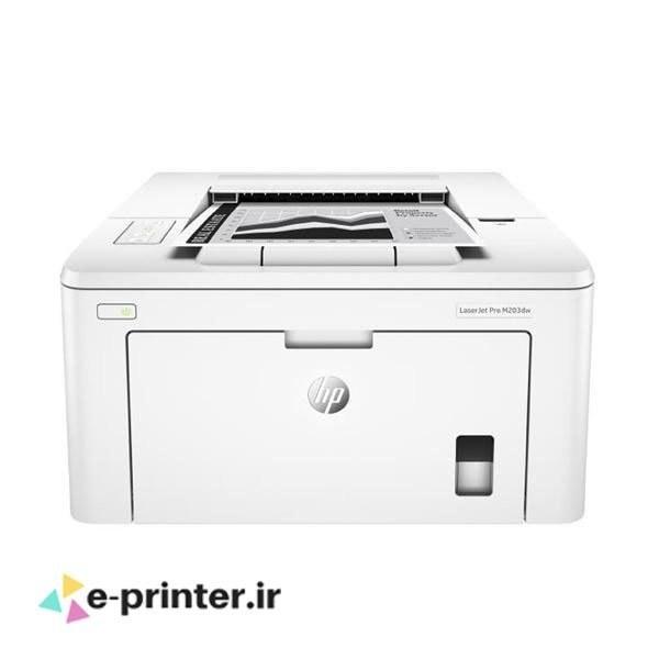 تصویر پرینتر لیزری اچ پی مدل LaserJet Pro M203dw HP LaserJet Pro M203dw Printer