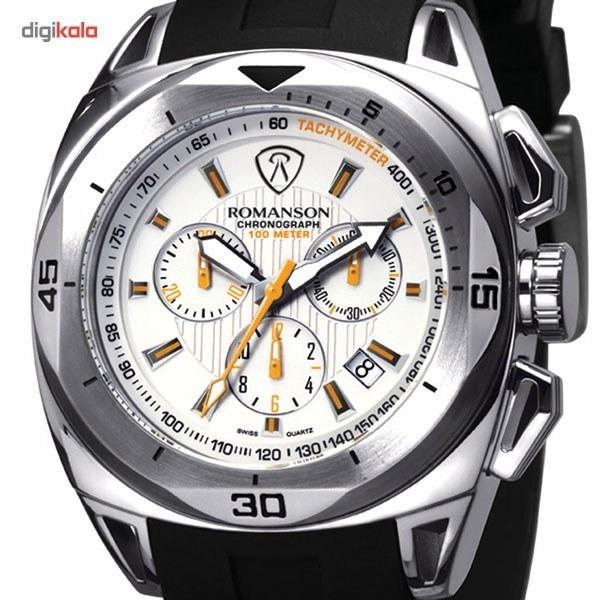 7727348b3 تصویر کوچک ساعت مچی عقربه ای مردانه رومانسون مدل AL1237HM1WA12W Romanson  AL1237HM1WA12W Watch For Men ساعت
