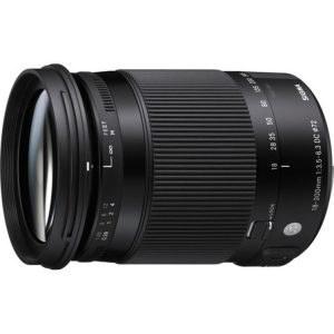 لنز سیگما Sigma 18-300mm F3.5-6.3 DC MACRO OS HSM | C for Nikon