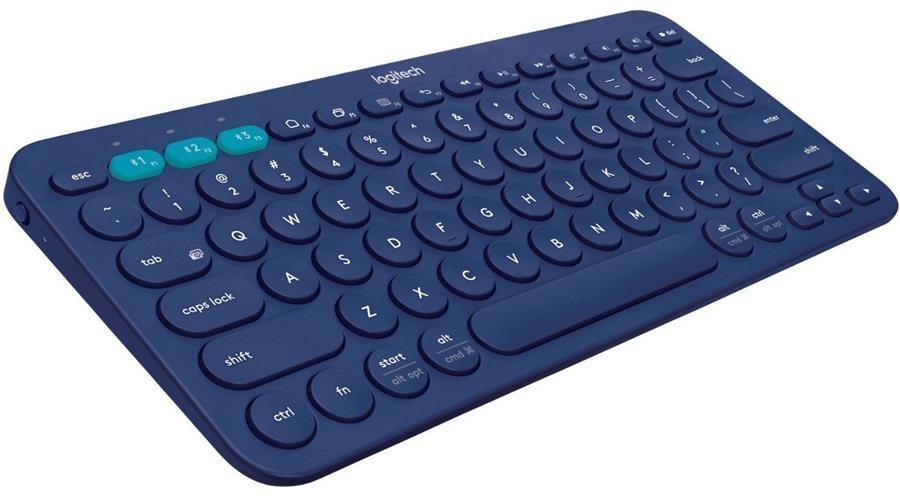 تصویر کیبورد بلوتوث لاجیتک K380 Blue Logitech K380 Multi-Device Bluetooth Keyboard