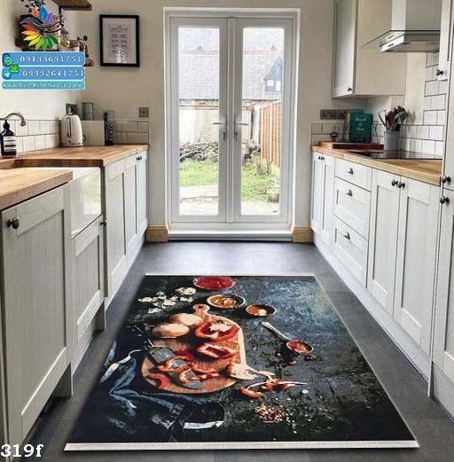 تصویر فرش  آشپزخانه کد 319f